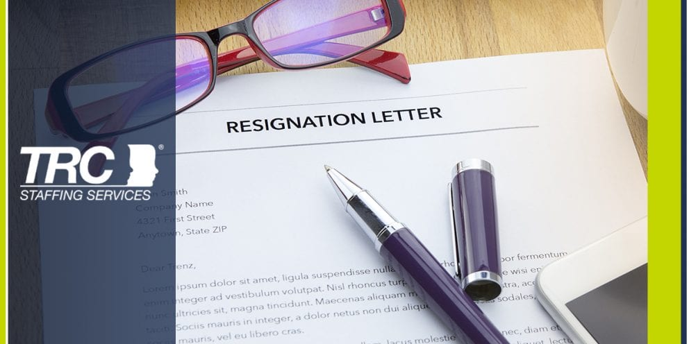 resign with dignity